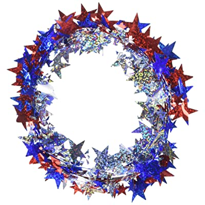 Prismatic Stars Party Wire Garland, 18\': Toys & Games [5Bkhe0202619]