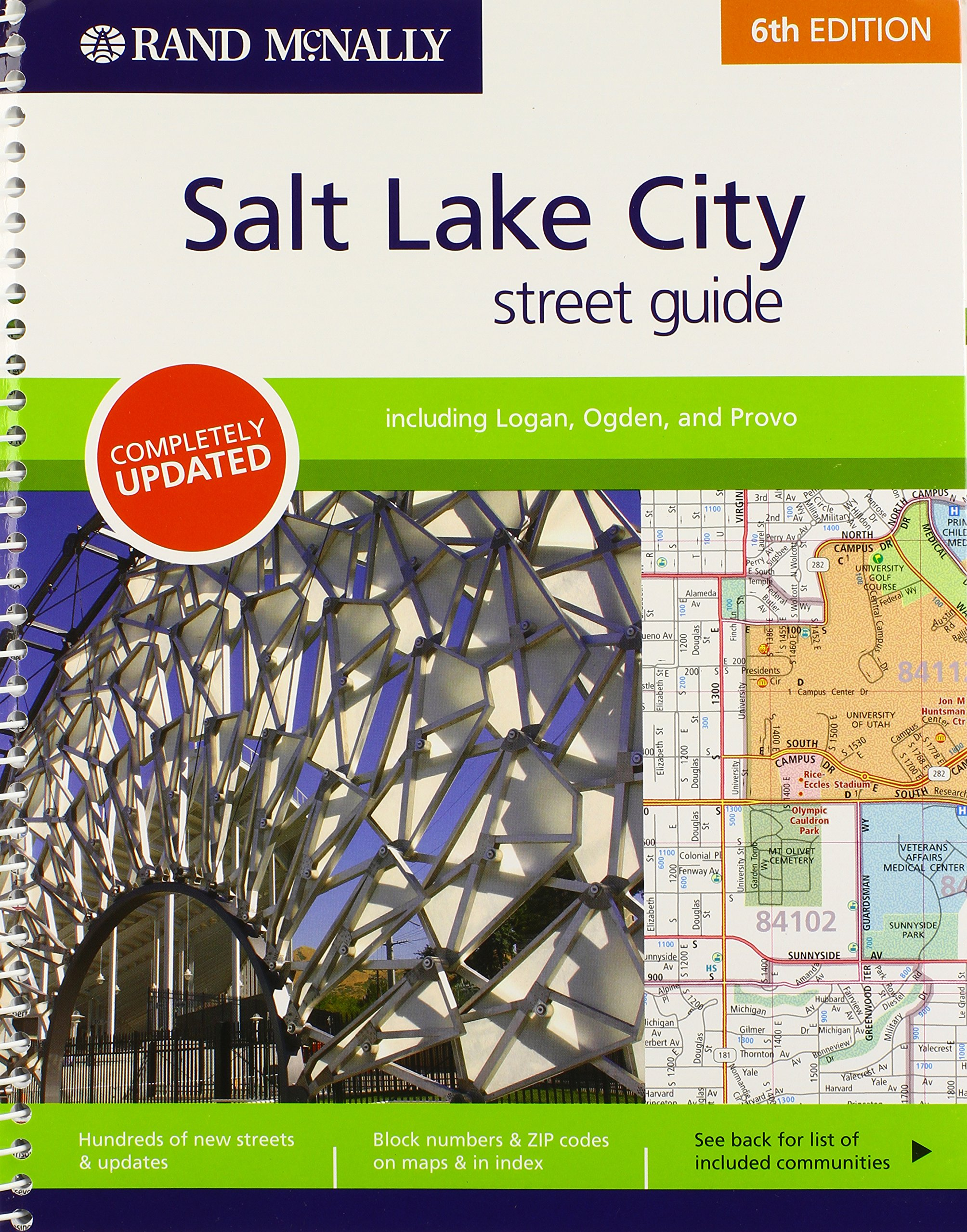 Read Online Rand McNally Street Guide: Salt Lake City (Rand McNally Salt Lake City Street Guide) PDF