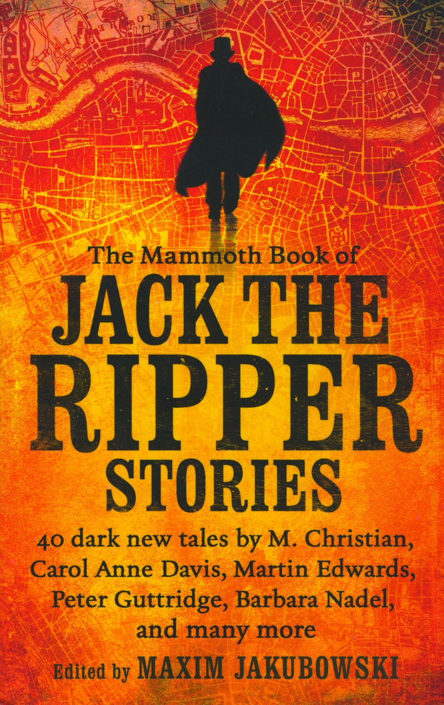 Image result for the mammoth book of jack the ripper stories book cover