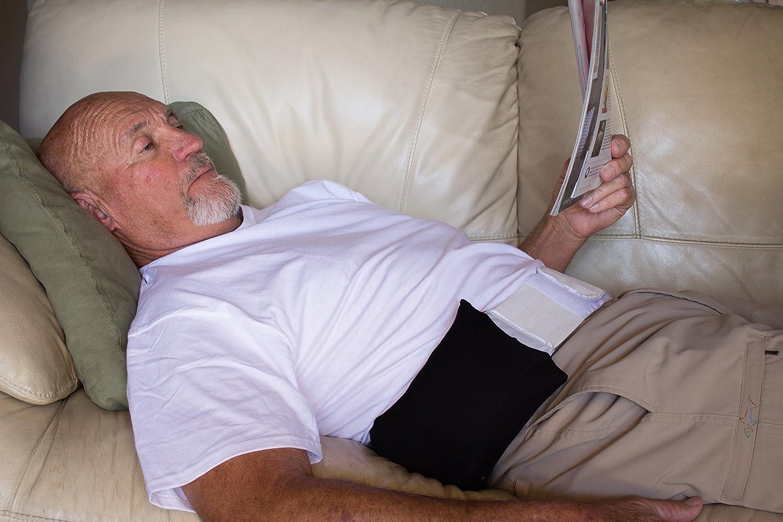 Lumbar Loft Inflatable Back Pillow with Belt