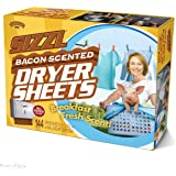 """Prank Pack """"Sizzl - Bacon Scented Dryer Sheets"""" - Wrap Your Real Gift in a Prank Funny Gag Joke Gift Box - by Prank-O - The Original Prank Gift Box 