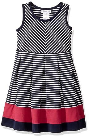 f8e001f5720 Amazon.com  Bonnie Jean Girls  Little Fit and Flare Fashion Dress ...