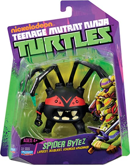 Amazon Com Teenage Mutant Ninja Turtles Spider Bytez Action