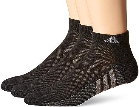 Adidas - Calcetines superligeros de corte bajo para hombres (juego de 3 pares) -