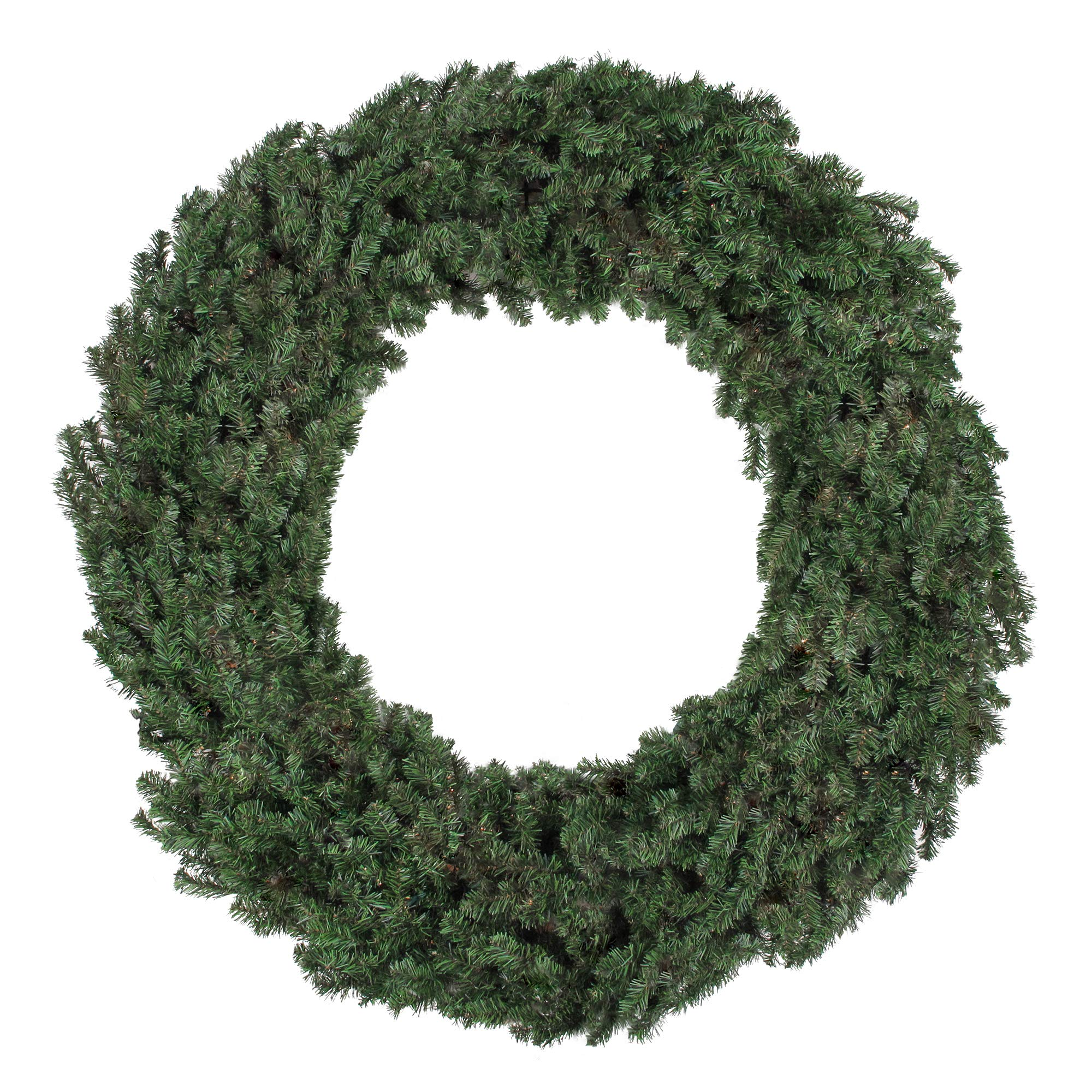 Northlight 60'' Commercial Size Canadian Pine Artificial Christmas Wreath - Unlit