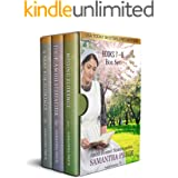 The Amish Bonnet Sisters series boxed set: Books 7-9 (Missing Florence, Their Amish Stepfather, A Baby For Florence): Amish R