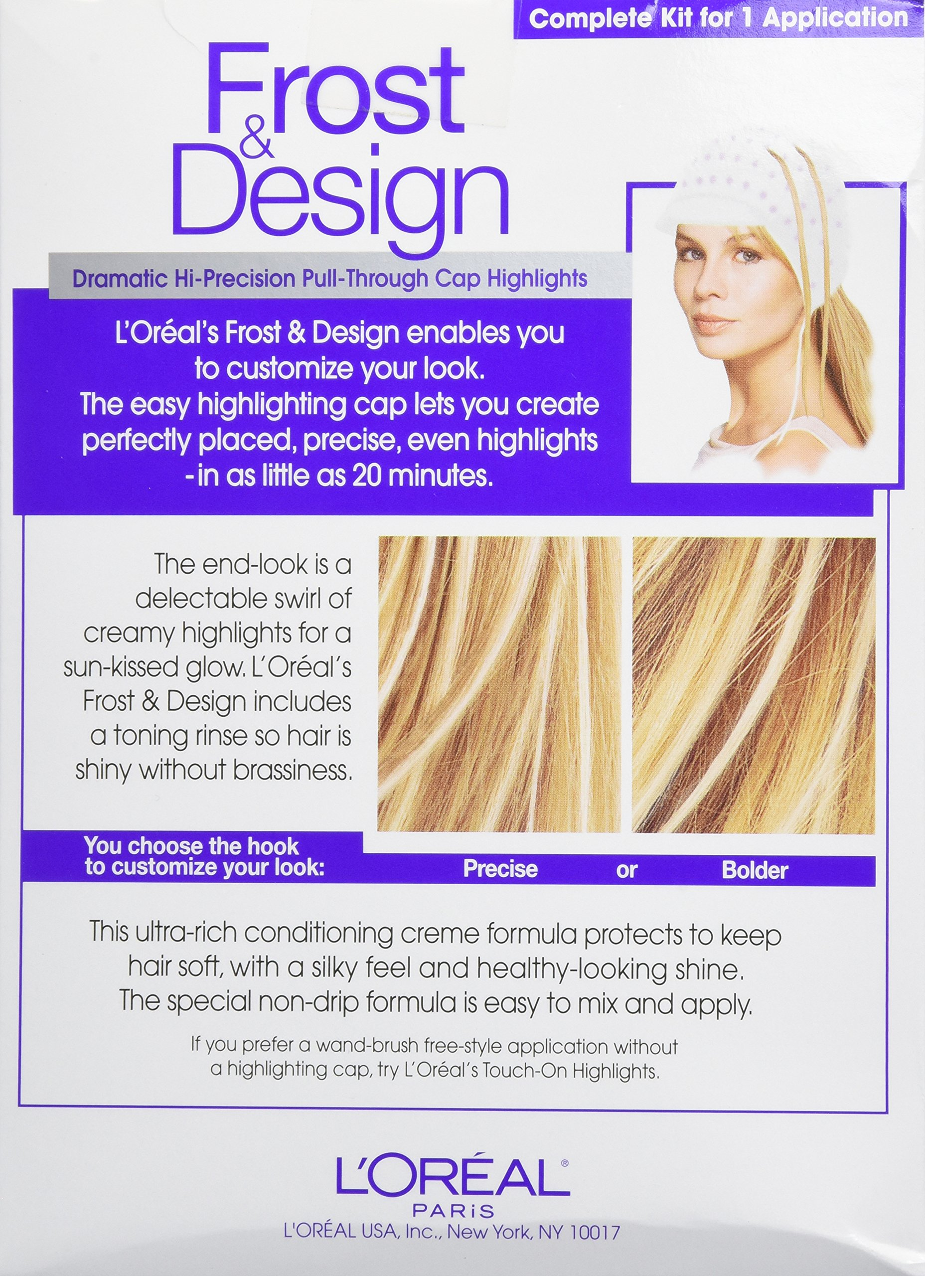 L'Oréal Paris Frost and Design Cap Hair Highlights For Long Hair, H85 Champagne by L'Oreal Paris (Image #3)