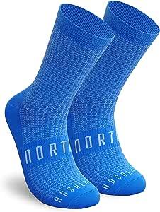 NORTEI Calcetines Azules para Ciclismo, MTB y Running de Caña Alta para Hombre y Mujer – Absolute Blue: Amazon.es: Deportes y aire libre