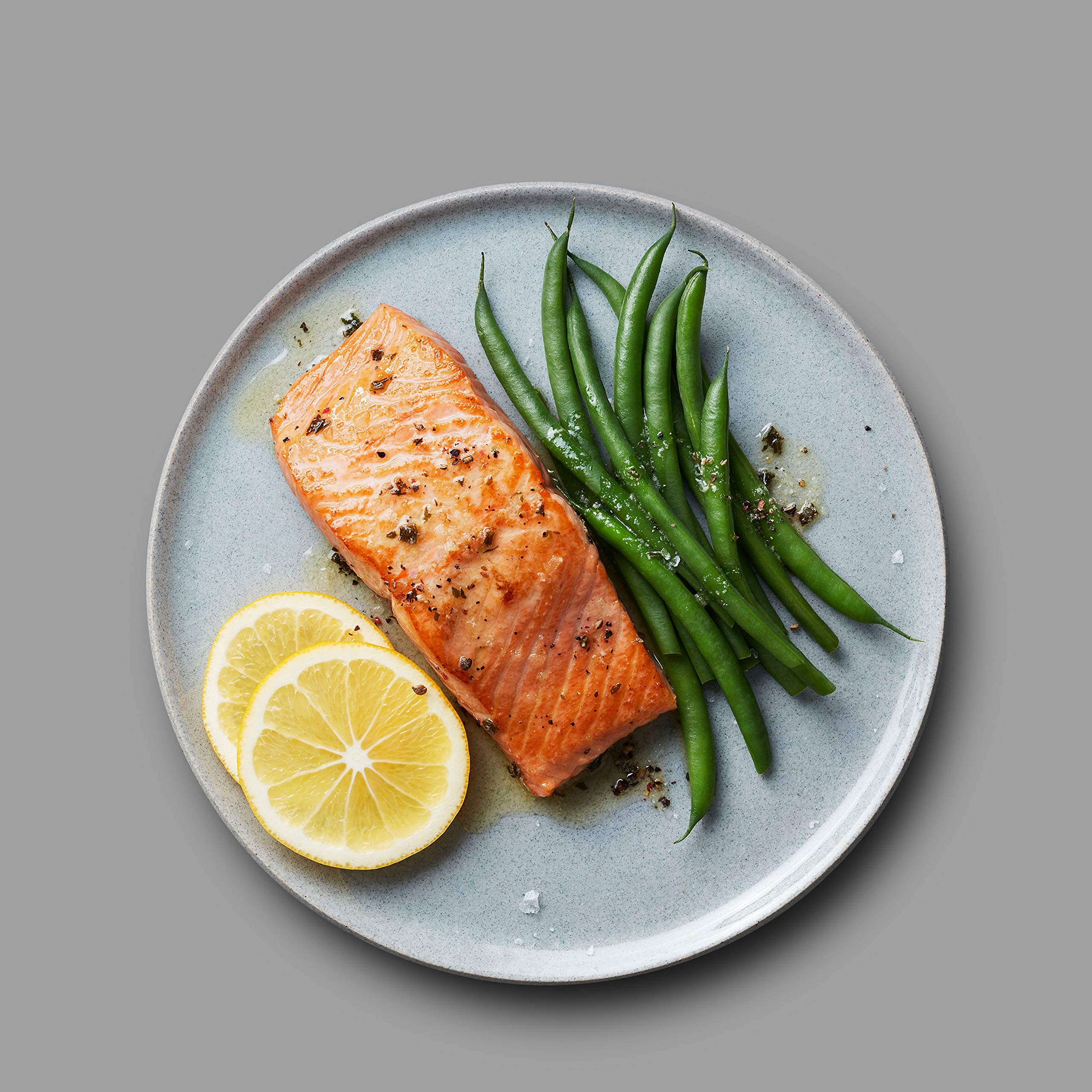 Martha Stewart for True North Seafood: Simple and Easy Sockeye Salmon with Miso Butter and Atlantic Salmon with Lemon Herb Butter - (Pack of 4) 11 oz. Trays by True North Seafood Company (Image #6)