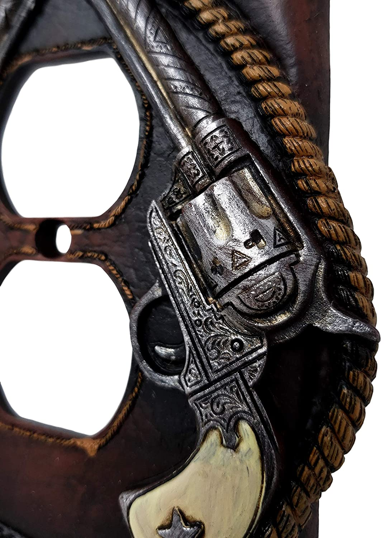 Western Cowboy Double Pistol Lasso outlet cover