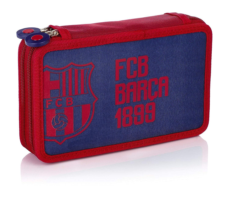 4,5x13x20,5 cm Multicolore B x H T Portefeuilles gar/çon Doppelt \bw Fc-188 Barca Fan 6 FC Barcelona Federtasche Multicolour