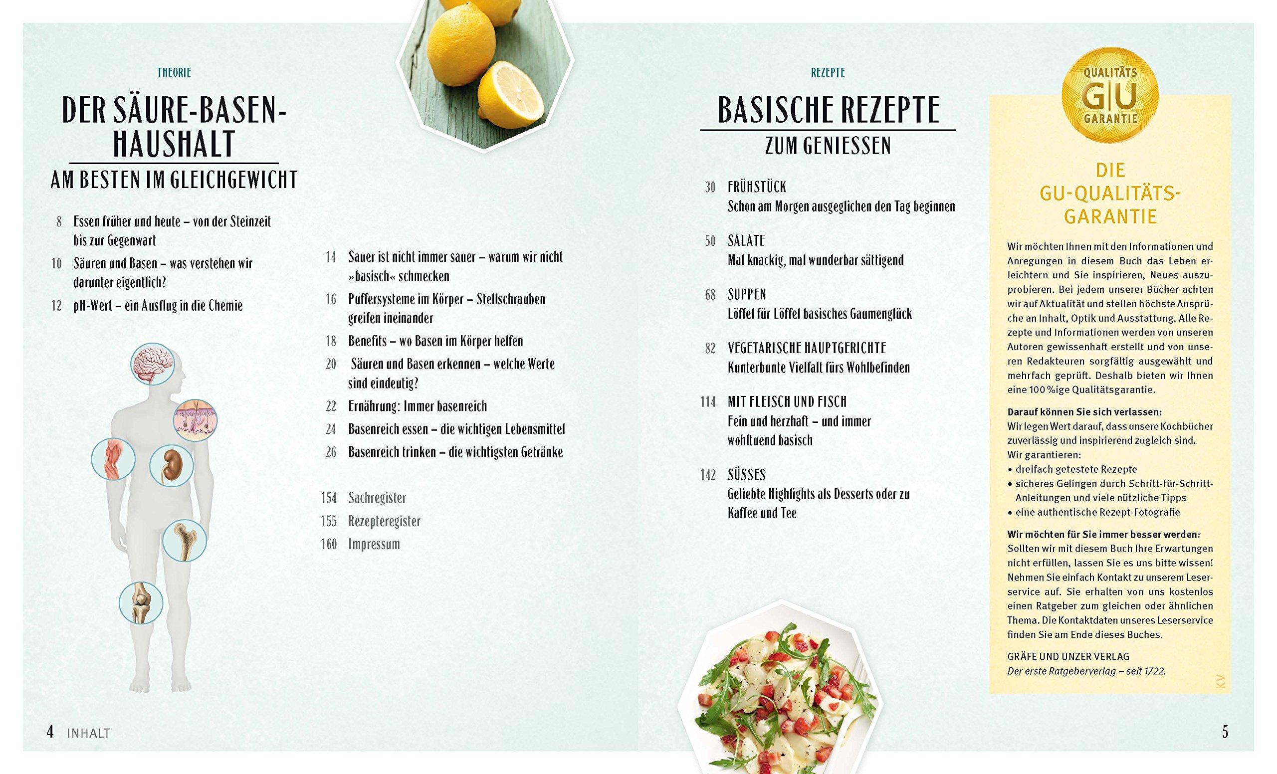 Säure-Basen-Kochbuch: Mit basischen Rezepten jeden Tag genießen und ...
