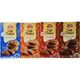 Enjoy Life Gluten-free Soft Baked Cookies Variety Pack, Four Flavors, 6-ounce Each (Pack of 4)