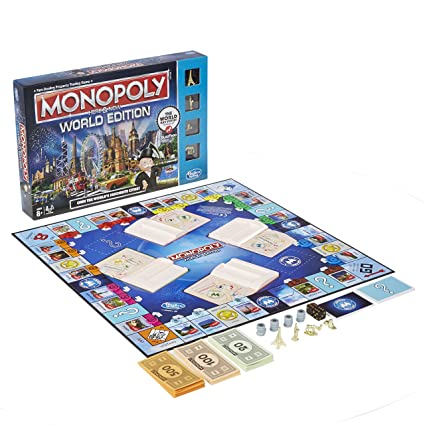 Amazon.com: Monopoly Here & Ahora World Edition: Toys ...