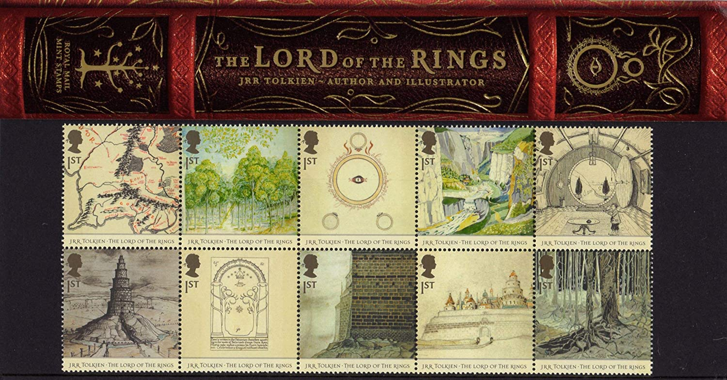 2004 Lord of the Rings Stamps in Presentation pack