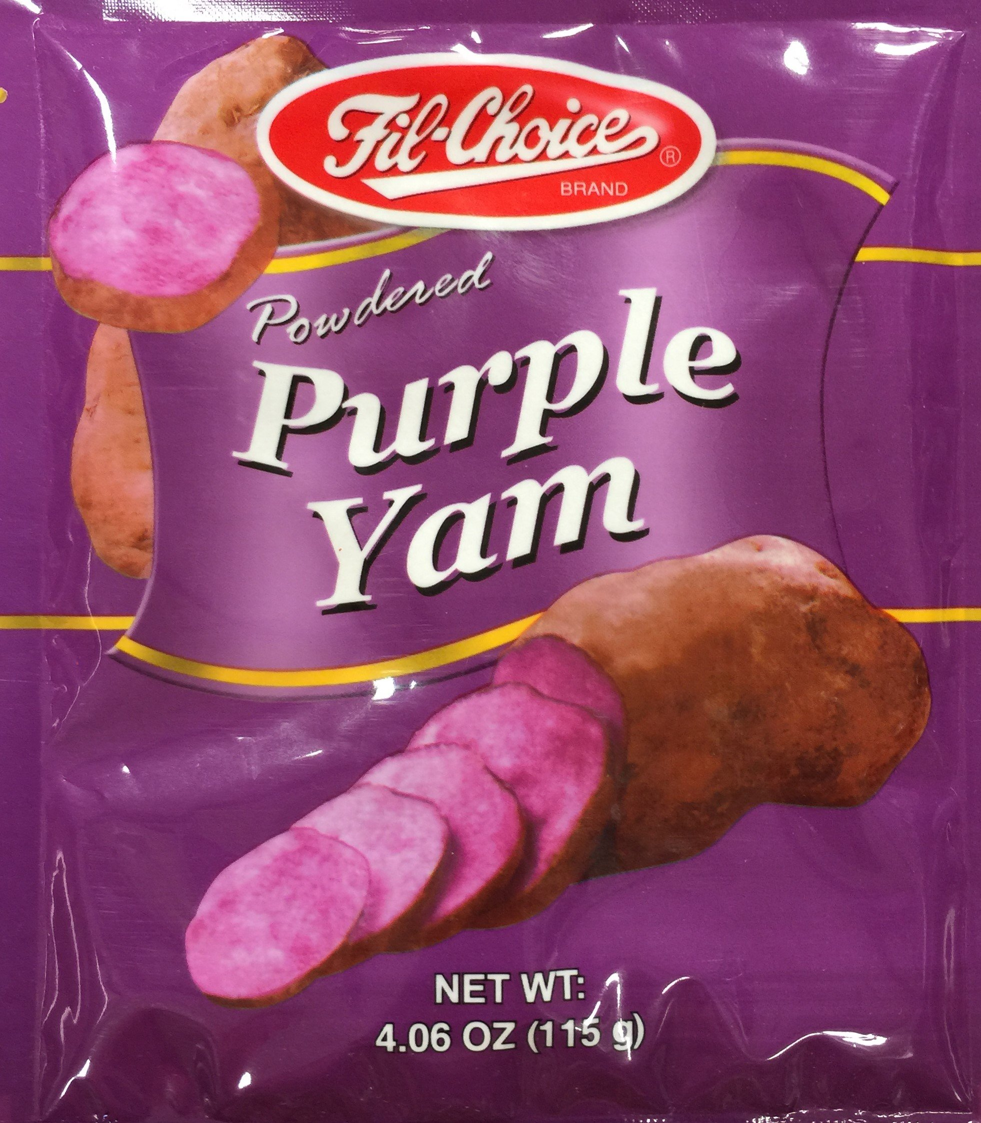 4.06oz Fil Choice Brand Powdered Purple Yam (One Bag Per Order)