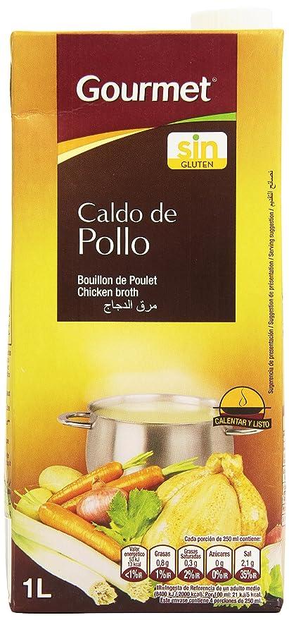 Gourmet Caldo de Pollo, Calentar y Listo - 1 l