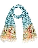 Scotch & Soda - Echarpe Homme - Multicolour voile scarf with dip bleach
