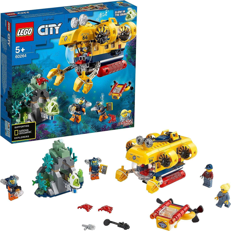 レゴ(LEGO) シティ 海の探検隊 海底探査潜水艦 60264