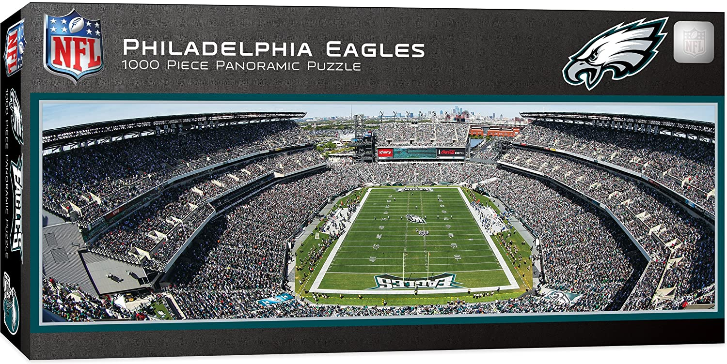NFL Stadium Panoramic Jigsaw Puzzle, 1000-Piece