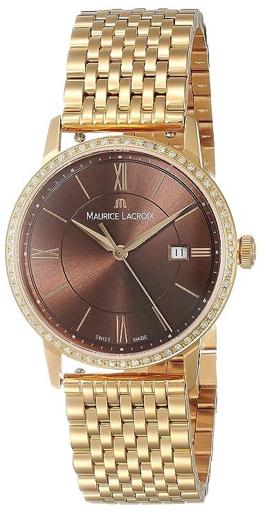 Reloj de cuarzo Oro 24kt diamantes 30mmhttps://amzn.to/2ECKq8I