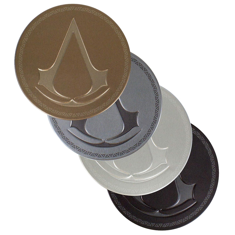 Paladone Assassin's Creed Metal Drink Coasters