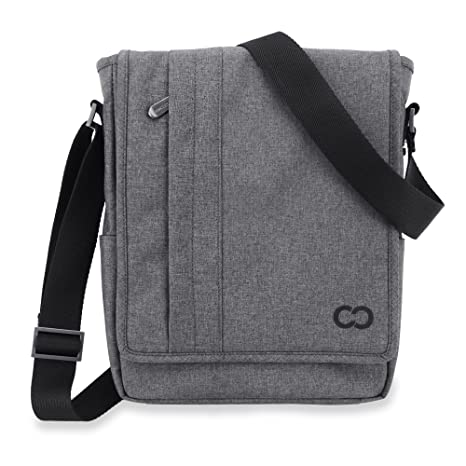 33e6b54457 Amazon.com  CaseCrown Campus Messenger Bag (Charcoal Gray) for ...