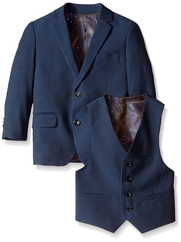 Square Weave Suit Isaac Mizrahi Boys 2-7 ST2035Y Isaac Mizrahi Little Boys 3 Pc