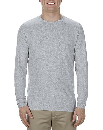 34753d942b4 Alstyle Apparel AAA Men s Ultimate Lightweight Ringspun Long Sleeve T-Shirt