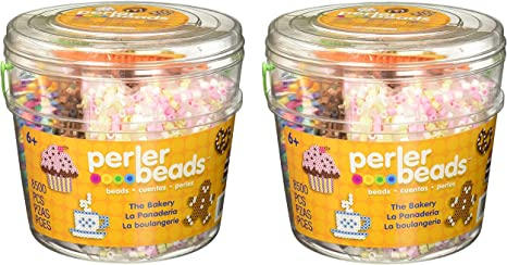 Perler Bakery Fuse Bead Bucket Craft Activity Kit, 8504 pcs: Amazon.es: Juguetes y juegos