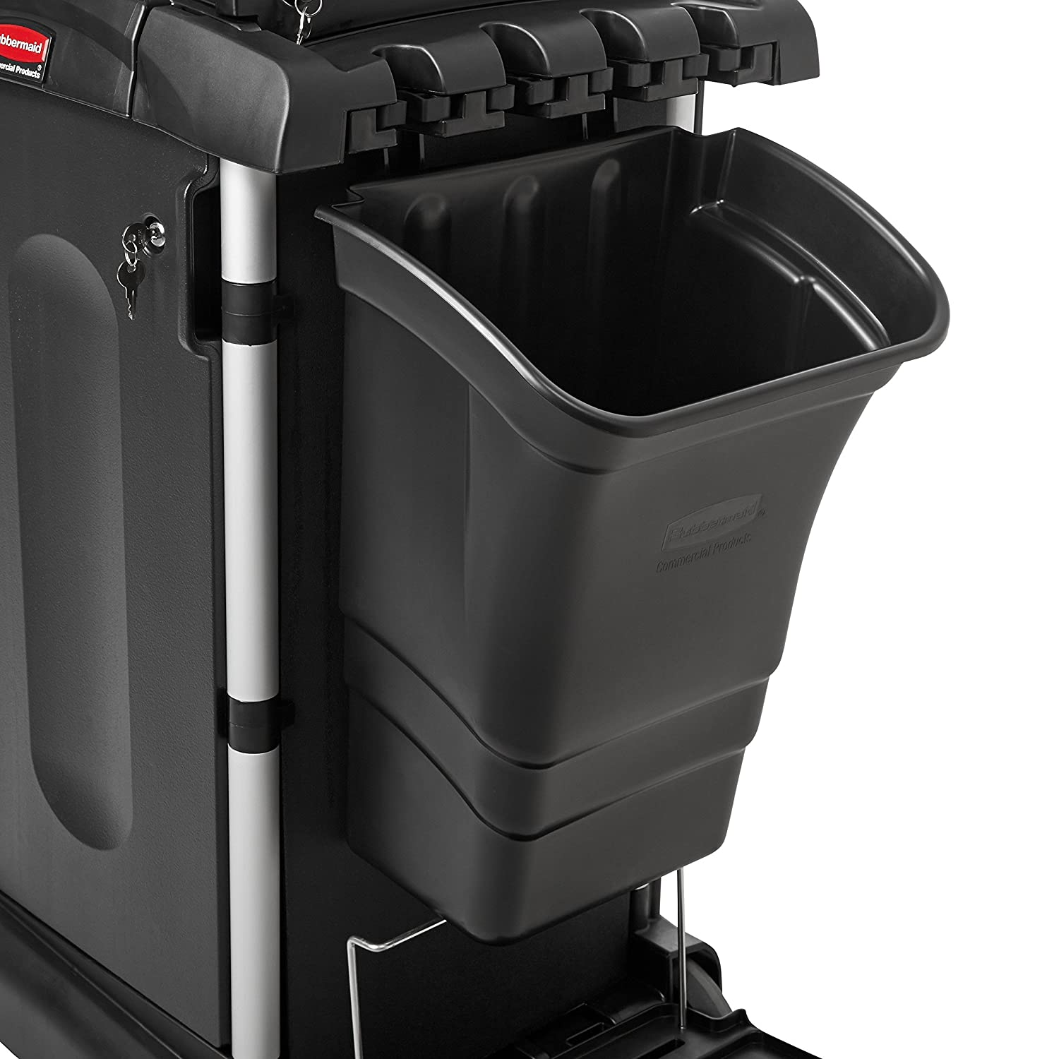 31.63 Height Brown 34 Length 1.88 Width 31.63 Height Rubbermaid Commercial Products FG619700BRN Rubbermaid FG619700 Locking Door Kit for Full Size and Compact Housekeeping Carts 1.88 Width 34 Length
