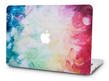 KECC MacBook Pro Retina 13 Zoll H/ülle Schutzh/ülle Case Cover MacBook Pro 13.3 Retina H/ülle {A1502//A1425} Bunter Wirbelwind