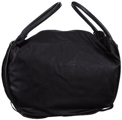 5640e3df9d Diesel Womens Divina Medium Handbag Black Schwarz (Black T8013) Size:  48x31x30 cm (