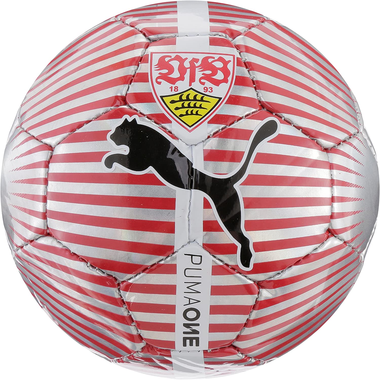 Puma VfB Stuttgart One Chrome Balón de fútbol, Night Sky, Mini ...