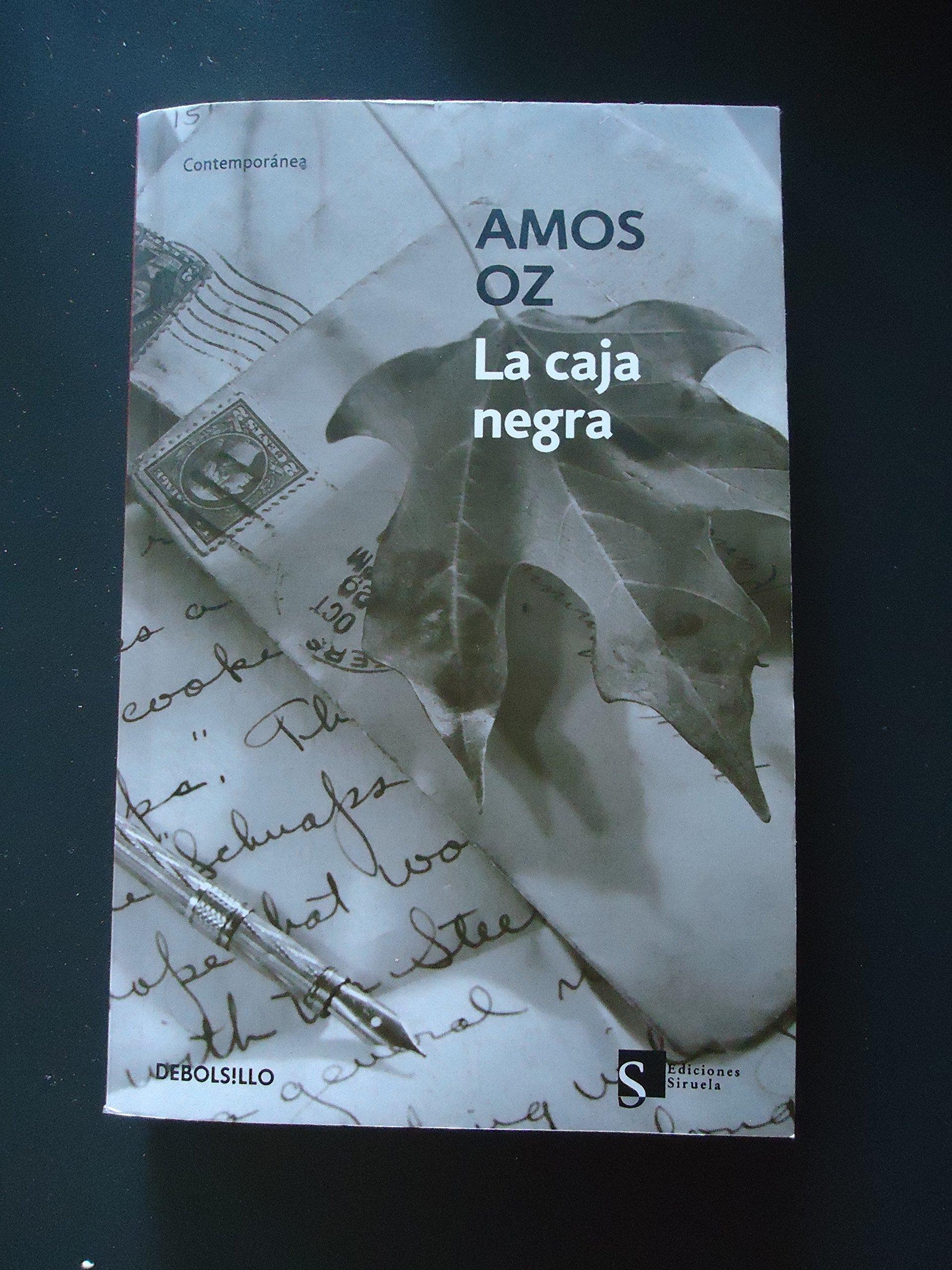 La caja negra: Amazon.es: Oz, Amos: Libros