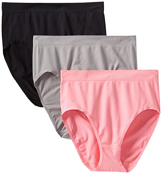 c74bce5b1a4 Fruit of the Loom Women s Plus-Size Ladies Ffm 3 Pack Comfort Solutions  Seamless Brief