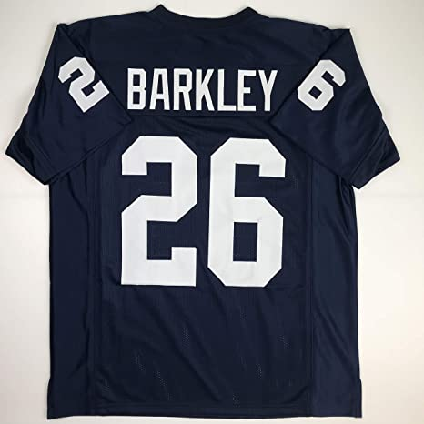 Unsigned Saquon Barkley Penn State Blue College Custom Stitched Football  Jersey Size Men s XL New No 612776f3d