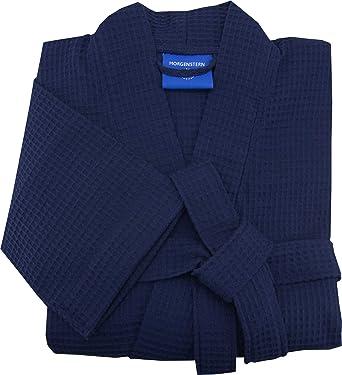 Morgenstern, Herren Waffelpique - Bademantel, blau ( dunkelblau ...