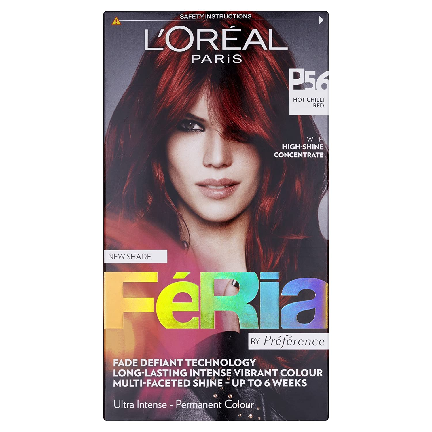 Buy loreal feria ultra lighting permanent hair colors p56 hot buy loreal feria ultra lighting permanent hair colors p56 hot chilli red online at low prices in india amazon nvjuhfo Gallery