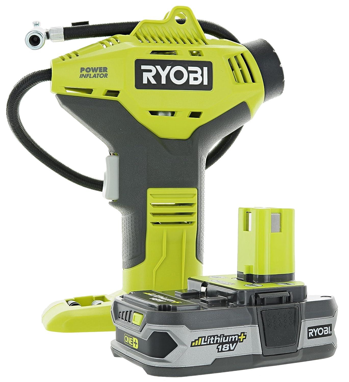 2. Ryobi P737 18 Volt ONE PLUS Power Inflator