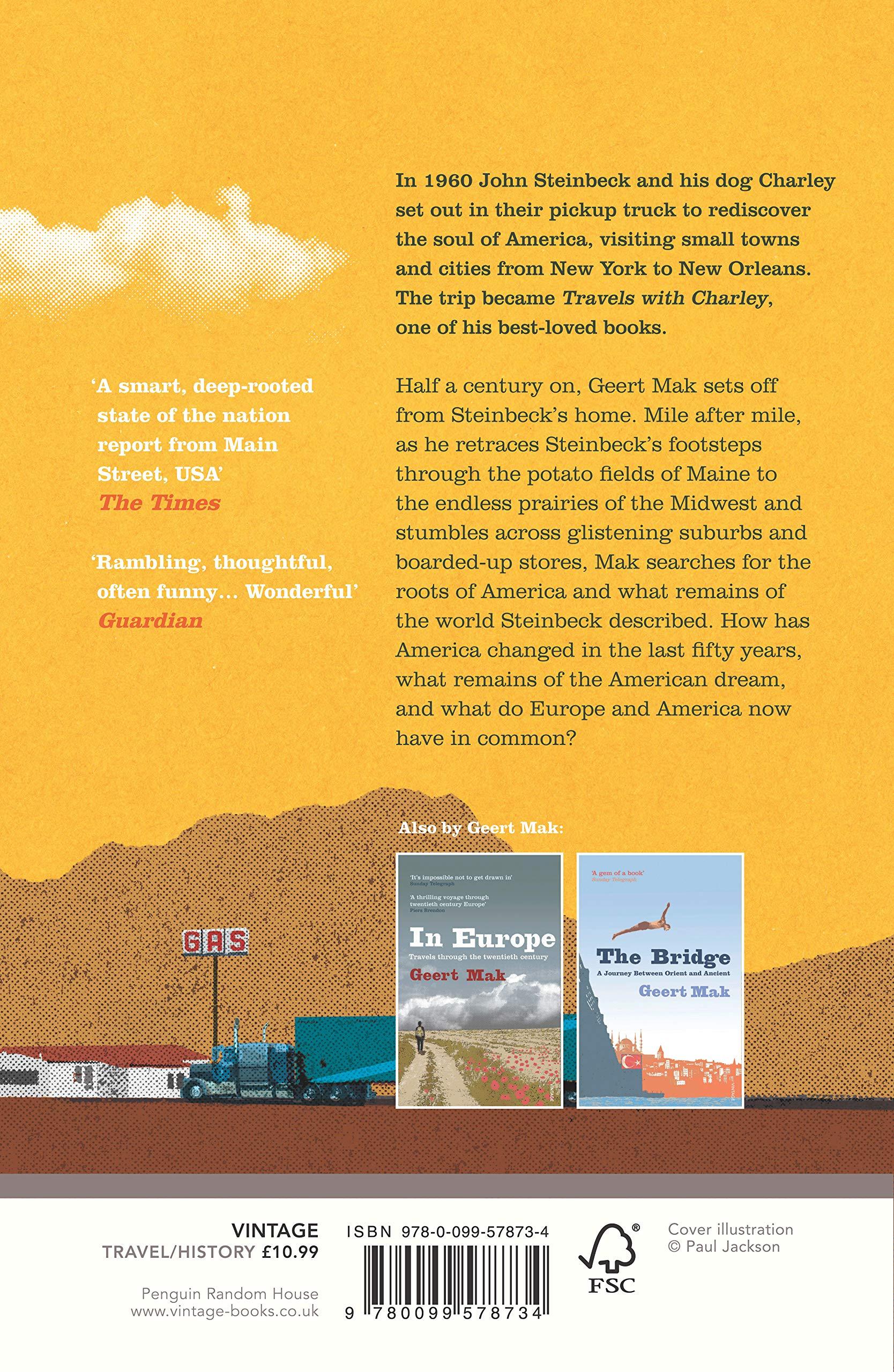 In America: Travels with John Steinbeck: Geert Mak: 9780099578734: Amazon.com:  Books