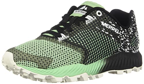 Merrell All out Crush Tough Mudder 2, Scarpe da Trail Running Donna, Nero (Tm Orange), 38 EU