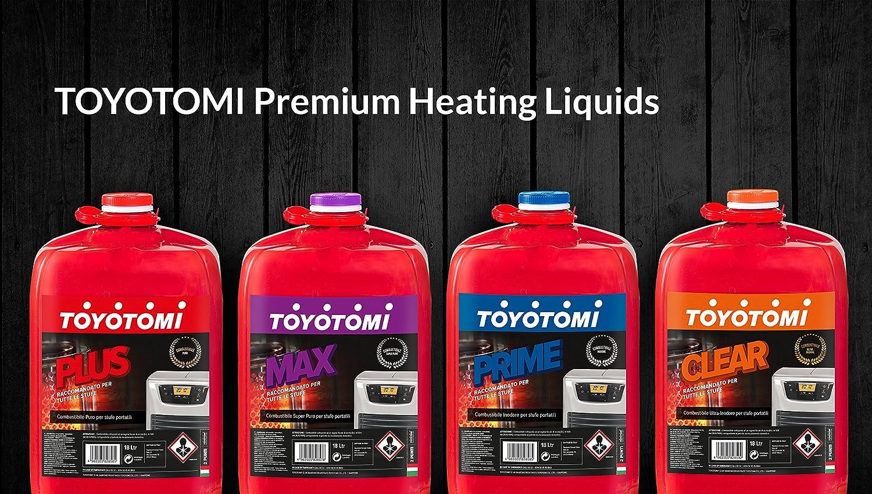 Toyotomi - Combustible universal Prime, 18 litros, rojo: Amazon.es: Bricolaje y herramientas