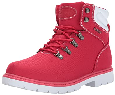 Lugz Women's Grotto Ripstop Fashion Boot, Mars Red/White, ...