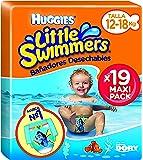 Huggies Little Swimmers, Talla 5+, 19 pañales