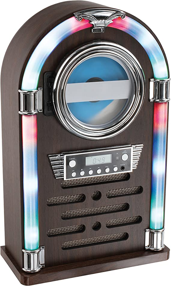 Clip Sonic Technology tes195 Jukebox Bluetooth Madera