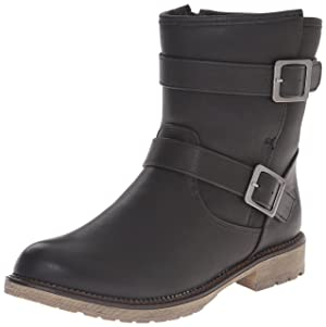 Dirty Laundry by Chinese Laundry Women's Riotgirl Burnishe Boot, Black, 8.5 M US