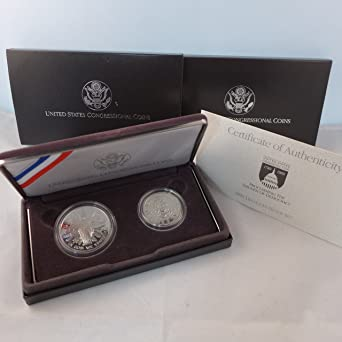 MINT U.S 1989-S CONGRESSIONAL PROOF HALF DOLLAR w// BOX /& COA