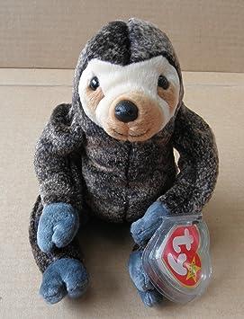 748b9da2757 TY Beanie Babies Slowpoke the Sloth Stuffed Animal Plush Toy – 6 Inches  Tall – Dark