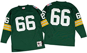 new arrival 3f2c6 ccb4a Ray Nitschke Green Bay Packers Mitchell & Ness Authentic ...